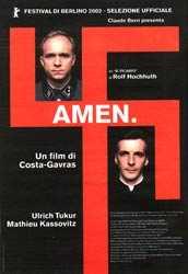 película de Costa Garvras sobre Vaticano y nazismo