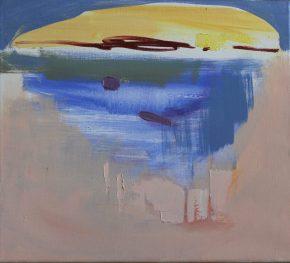 Headland by Noël O´Callaghan, oil on canvas, 40x50cm, 2020