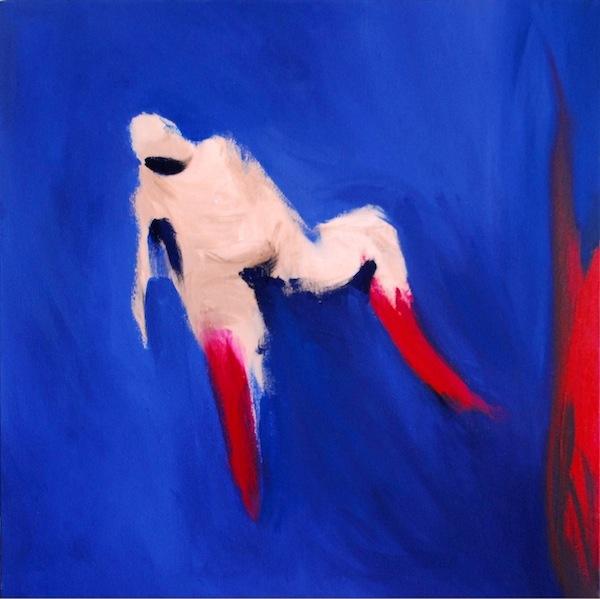 Noel Gazzano (2009) Il Riformatore del Mondo. Acrylic on canvas, 40x40 cm