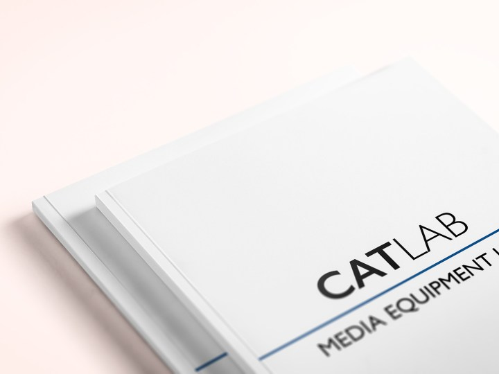 CATLAB Media Equipment List Cover