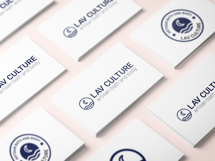 LAV Cultrure Business Card Logos