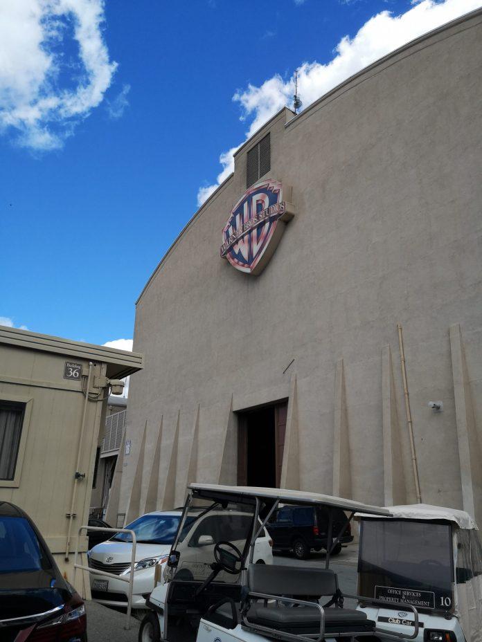 Set de rodaje de Warner Bros Hollywood.