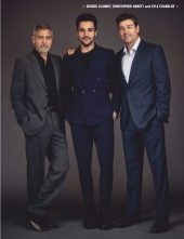 George Clooney, Christopher Abbott y Kyle Chandler 01