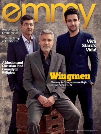 George Clooney, Christopher Abbott y Kyle Chandler 08