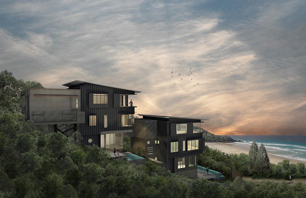 Sunshine Beach Duplex 2 Nof Architects