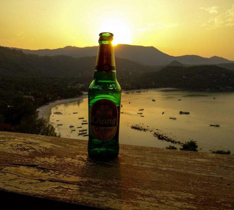 Sunset Thong Nai Pan Yai