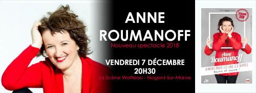 Anne Roumanoff en spectacle
