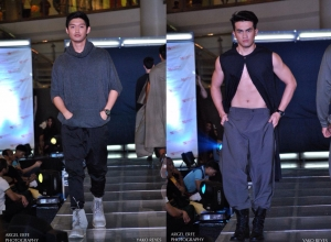 Shaolin Monk in the City by Yako Reyes (Pilipinas Mens Fashion Week Fall/Winter 2014)