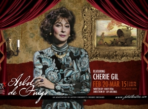 Cherry Gil for PETA's Arbol de Fuego