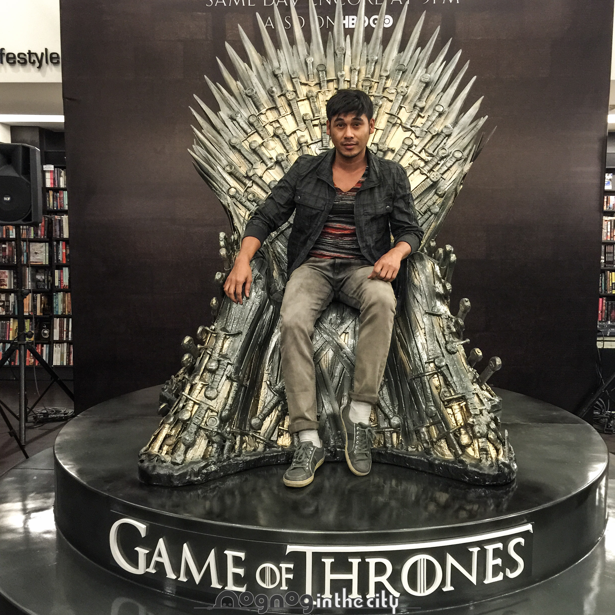 Game of thrones 39 iron throne replica is in manila for Buy iron throne chair