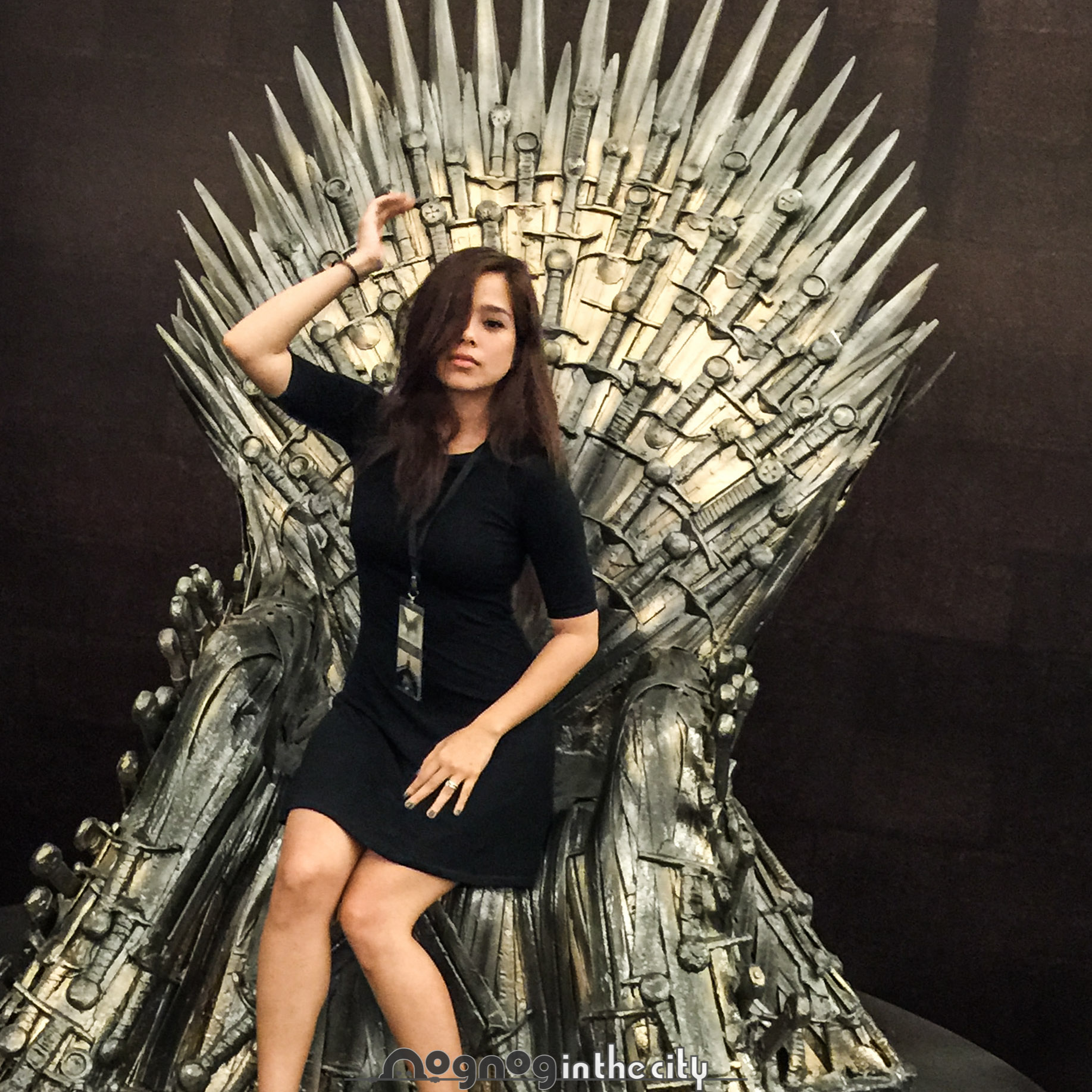 Game of Thrones' Iron Throne Replica is in Manila
