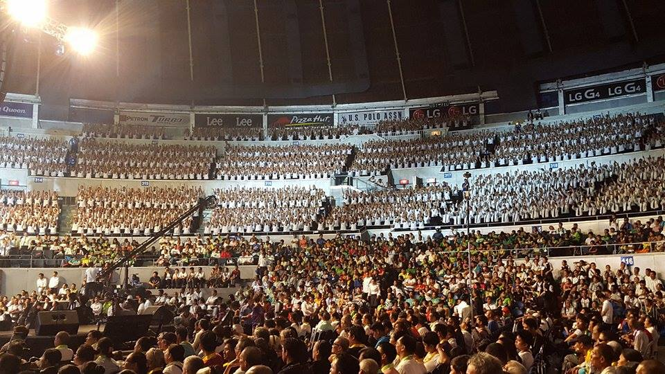 Ang dating daan convention center quezon city circle