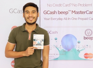 GCash beep Mastercard your everyday-all-in-one card