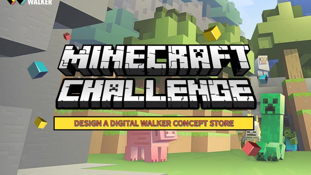 Gamers Battle It Out in Digital Walker's Minecraft Challenge