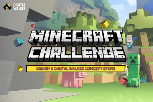 Gamers Battle It Out in Digital Walker's Minecraft Challenge