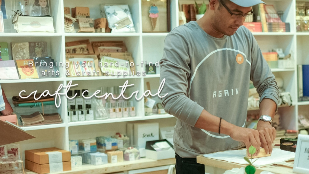 The Craft Central, the shop to visit for your hard-to-find arts and craft supplies