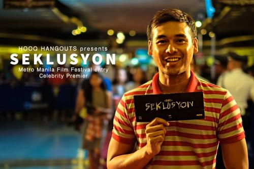 "The Celebrity Premier of ""Seklusyon"" presented by HOOQ Hangouts"