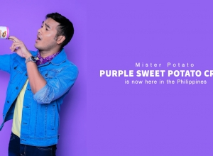 That Purple Sweet Potato Crisps is now here in the Philippines