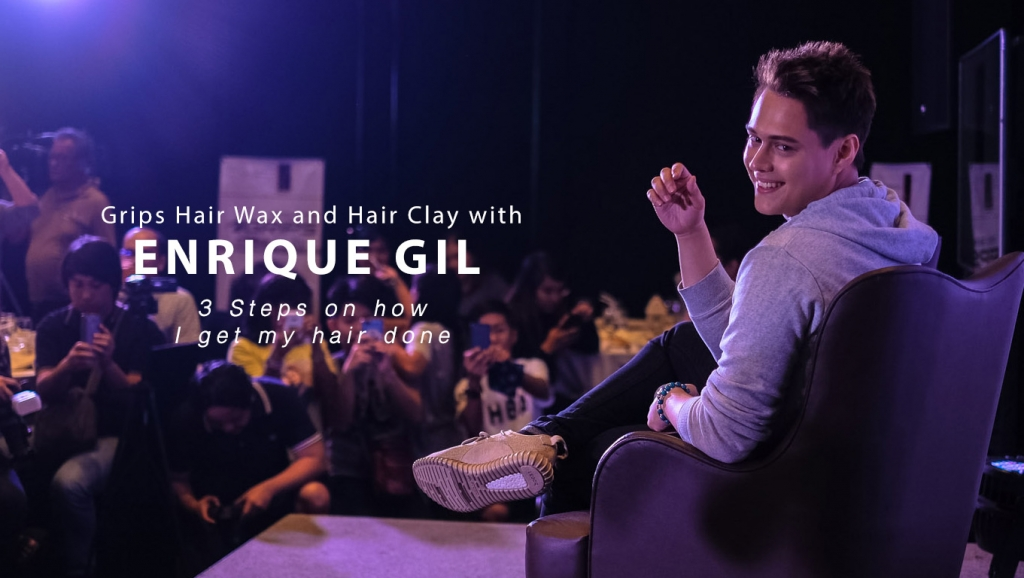 3 Steps on how I get my hair done + Enrique Gil for Grips Hair Wax and Hair Clay