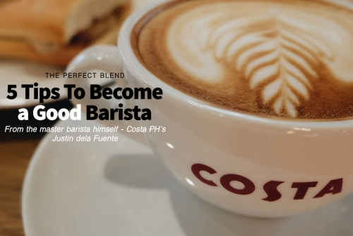 5 Tips To Become a Good Barista (The Perfect Blend)