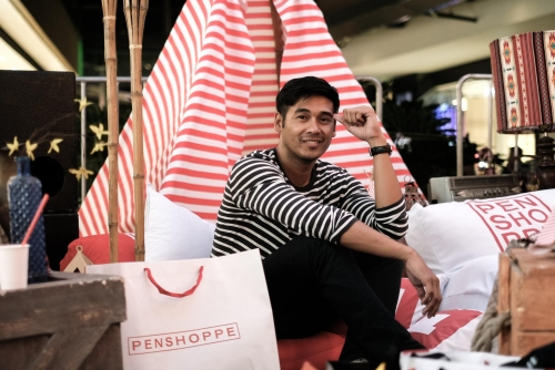 Inside: Penshoppe Capital Launch at UP Town Center