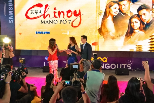Win A Trip to Hong Kong Disneyland with #HOOQTimeAnytime + HOOQ Hangouts presents Mano Po 7: Chinoy