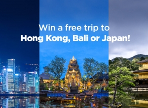 Win an all-expense-paid trip to Asia's most exciting destinations with PayMaya Travel Blowout Promo