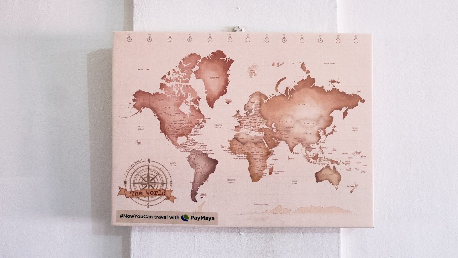 Win an all expense paid trip to asias most exciting destinations world map corkboard 1 of 1 gumiabroncs Image collections
