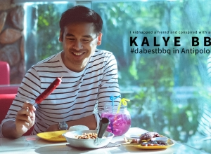 I kidnapped a friend and conspired with another + we end up eating #DaBestBBQ of KalyeBBQ
