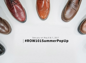 More men's line this year at Row 101 Summer Pop Up 2017 #Row101SummerPopUp