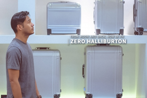 Zero Halliburton from the moon and back, now in the Philippines