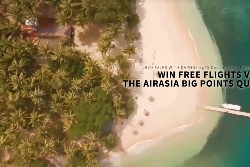 Win Free Trips via The AirAsia BIG Points Quiz (Ep#05 Destination – HARMONY)