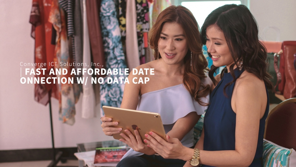 Fast and Affordable Data Connection with No Data Cap – Converge ICT Solutions, Inc.