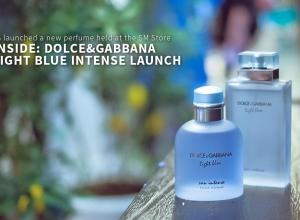 Inside: Dolce & Gabbana perfume launch – D&G Light Blue Intense