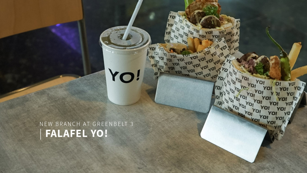 Falafel Yo! Israeli snack is here in Manila