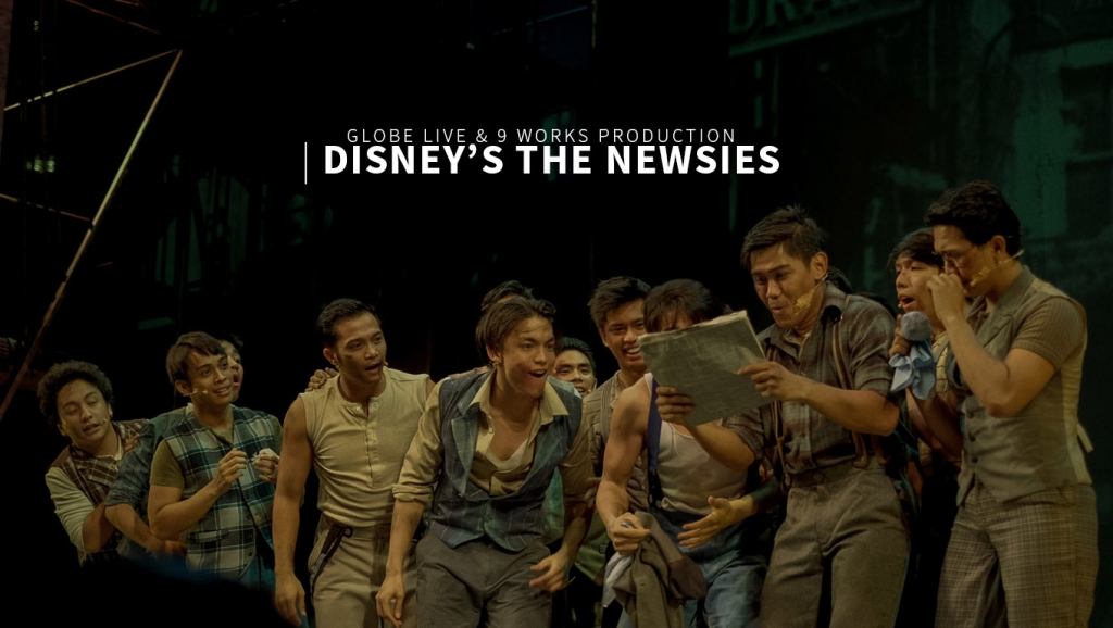 In stills – Globe Live & 9 Works Production of Disney's 'The Newsies' Broadway Musical