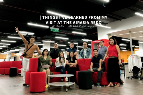 AirAsia RedQ tour + Things I learn from my short visit at the RedQuarters (KL Day Zero) #AirAsiainKualaLumpur