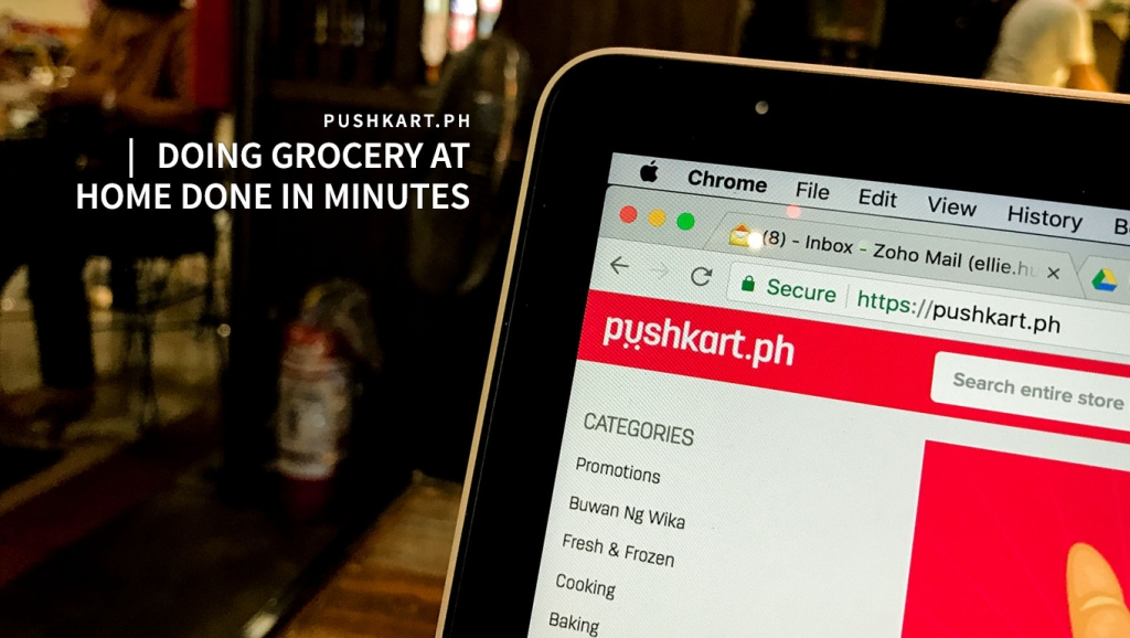Doing grocery at home done in minutes – Possible via Pushkart.ph, Here's how!