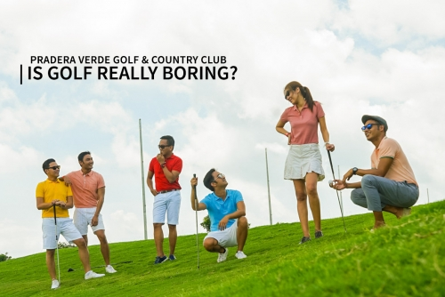 Is Golf really boring AF!? (Pradera Verde Golf and Country Club)