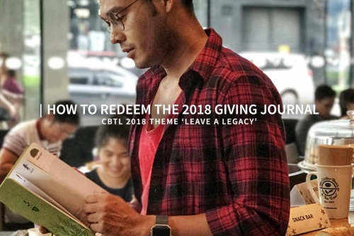 How​ ​to​ ​redeem​ ​the​ ​2018​ ​Giving​ ​Journal + Leaving a Legacy