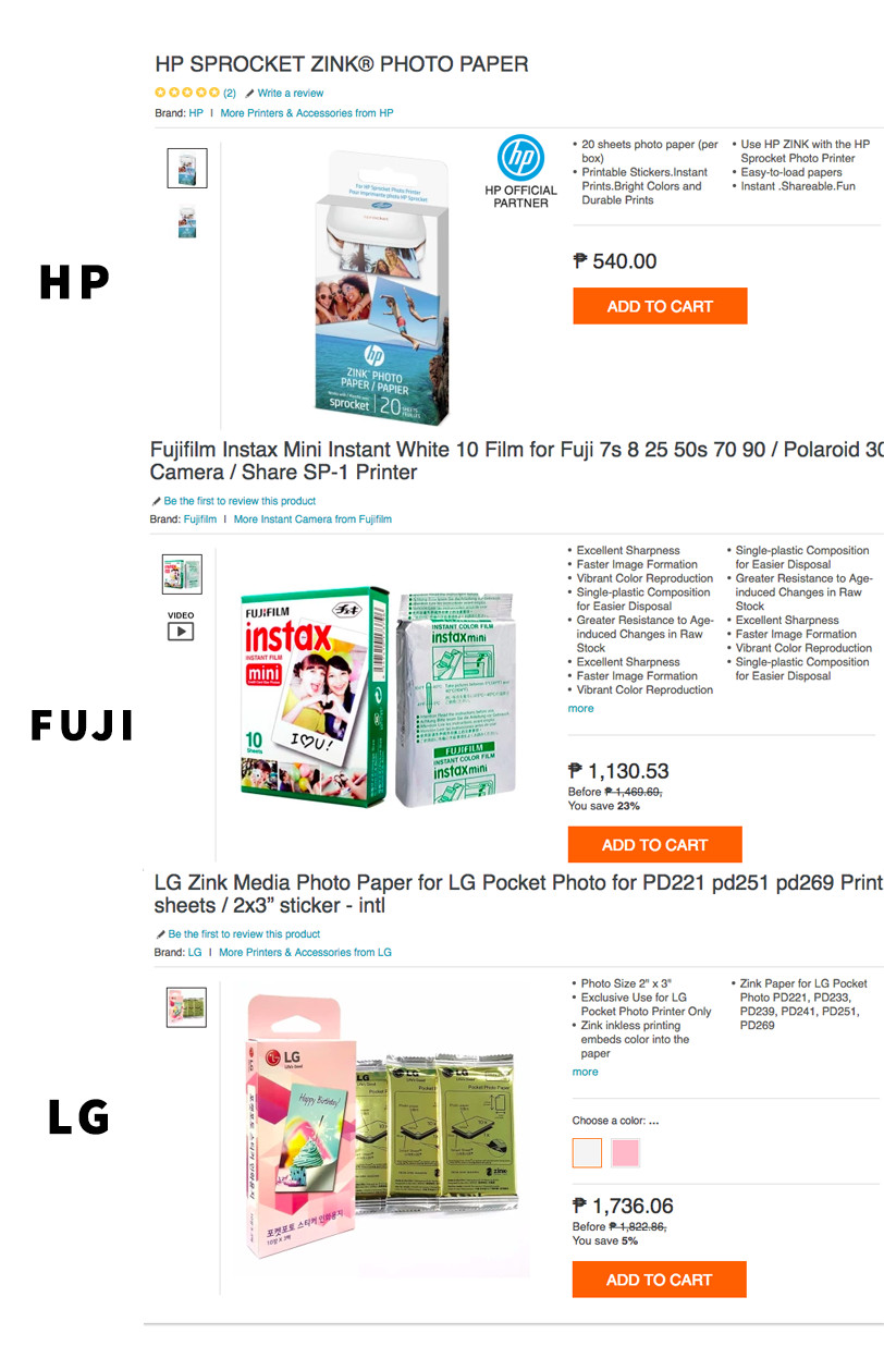 hp sprocket printer paper price ataccs kids