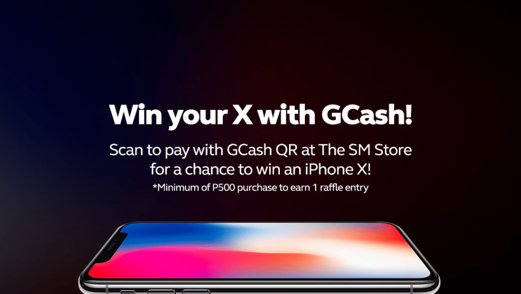 10 iPhone X to be raffle off just by using GCash at The SM Store