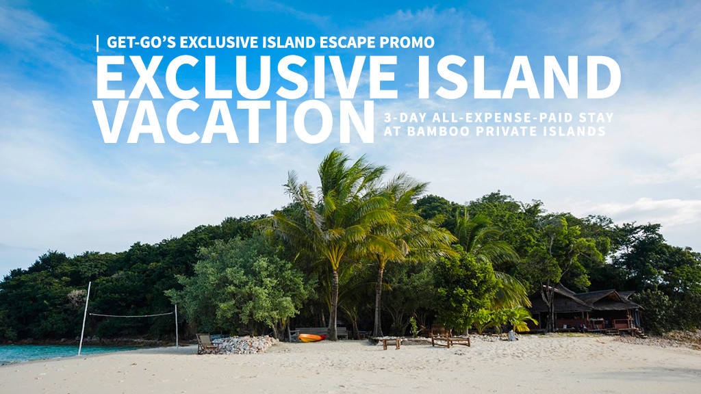 Win an exclusive Island Vacation for you and 9 of your family & friends via GetGo