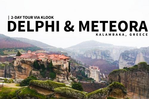 2-day tour to Delphi & Meteora, Kalambaka, Greece (Klook Tour)