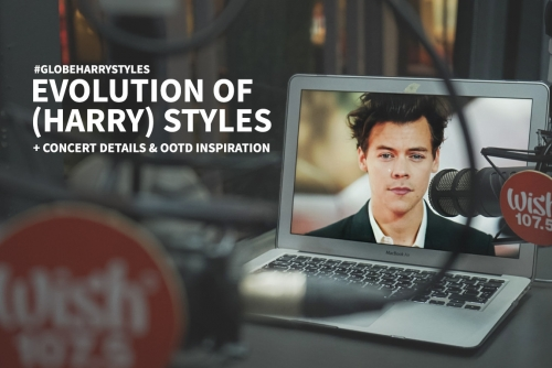 Evolution of (Harry) Styles #GlobeHarryStyles