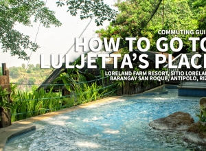Commuting Guide: How to go to Luljetta's Place Hanging Gardens Spa and Garden Suites