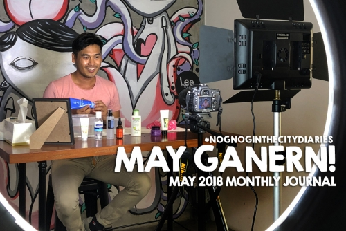 MAY Ganern! May 2018 monthly journal #NognogintheCityDiaries