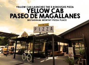 Yellow Cab's Most Instagrammable Branch to date + The new 5 Boroughs Pizza