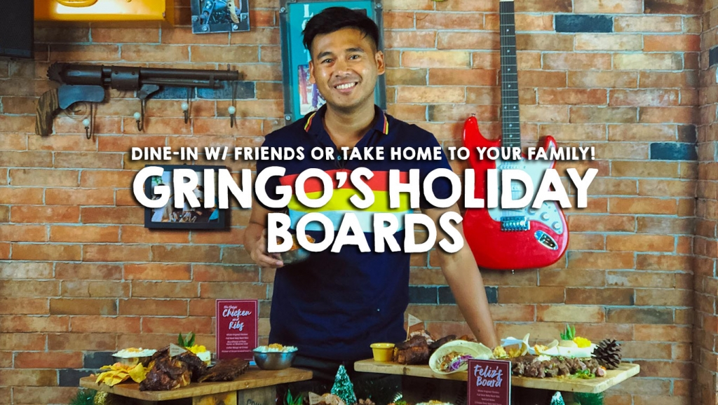 Mi Amigos!  Presenting, Gringo's Holiday Boards