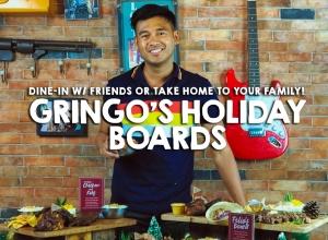 Mi Amigos!  Presenting, Gringo's Holiday Boards